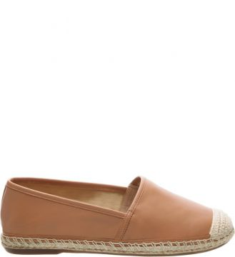 Espadrille Leather Toasted Nut SCHUTZ