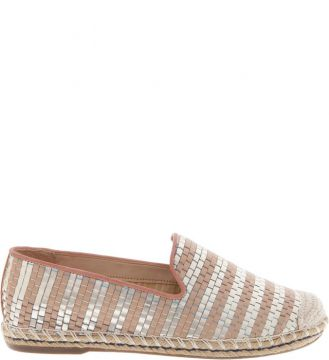 Espadrille Stripes Poppy Rose SCHUTZ