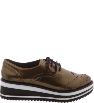 Flatform Oxford New Bronze - Schutz