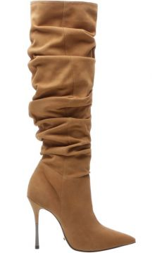 Anna Bota Over The Knee Suede Brown - Schutz