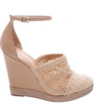 Espadrille Embroidery Natural - Schutz