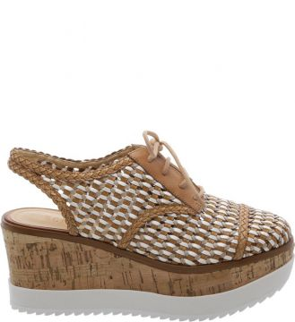 Oxford Flatform Cortiça Natural - Schutz