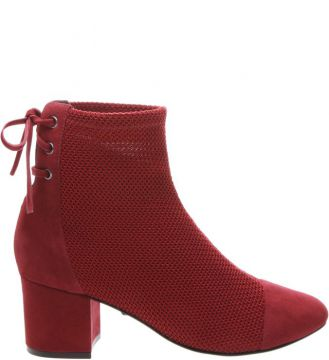 Boots Block Heel Red - Schutz