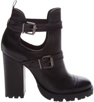 Combat Boot Tratorada Cut Out Black - Schutz