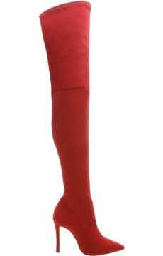 Over The Knee Red Boot - Schutz