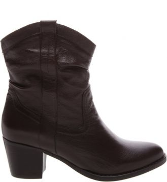 New Western Slouchy Boot Black - Schutz