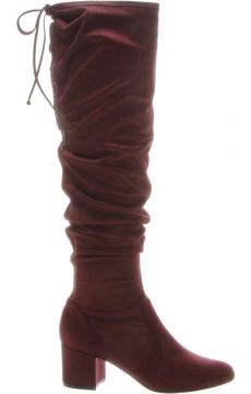 Bota Over The Knee Stretch Red - Schutz