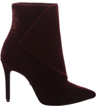 Velvet Boot Envelope Wine - Schutz