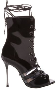 Sandal Boot Vinil Lace-up Black - Schutz