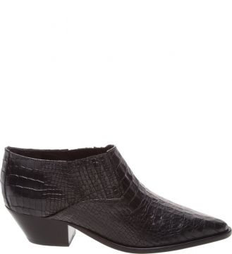 New Western Cut Boot Croco Black - Schutz