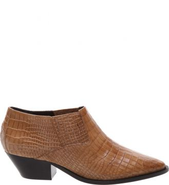 New Western Cut Boot Croco Neutral - Schutz