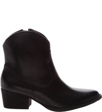 New Western Boot Minimal Black - Schutz