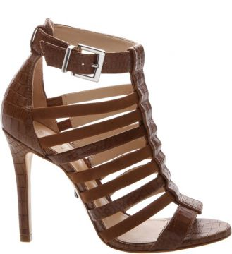 Sandália Salto Stripes Neutral - Schutz