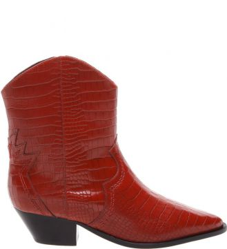Pré-venda Cowboy Boot Deluxe Croco Red - Schutz