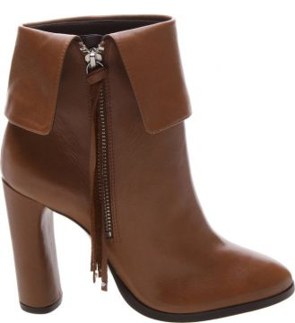 Ankle Boot Pala Fringes Neutral - Schutz