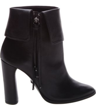 Ankle Boot Pala Fringes Black - Schutz
