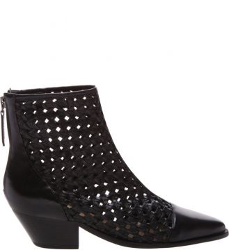 New Western Boot Trama Black - Schutz