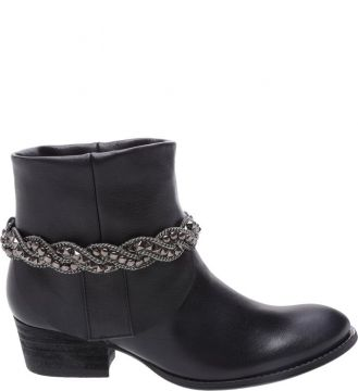 New Western Boot Black - Schutz