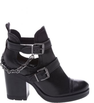 Cut Out Boot Couro Black - Schutz