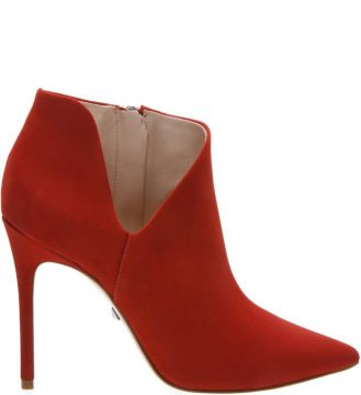 Ankle Boot Cut Out Red - Schutz