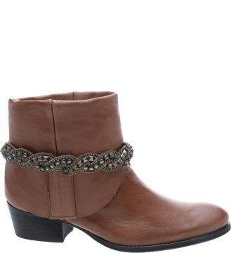 New Western Boot Brown - Schutz