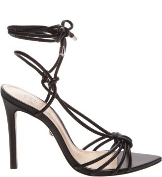 Sandália Strings Lace-up Black - Schutz