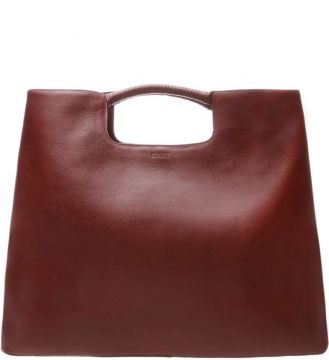 Maxi Hobo Dara Leather Vinho - Schutz