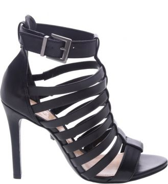 Sandália Salto Stripes Black - Schutz
