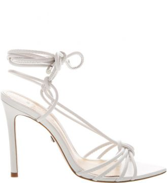 Sandália Strings Lace-up White - Schutz