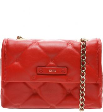 Shoulder Bag Matelassê Maxi Red - Schutz
