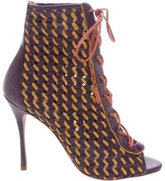 Open Boot Trama Lace-up Colors - Schutz