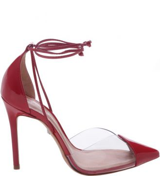 Scarpin Vinil Lace Up Red - Schutz