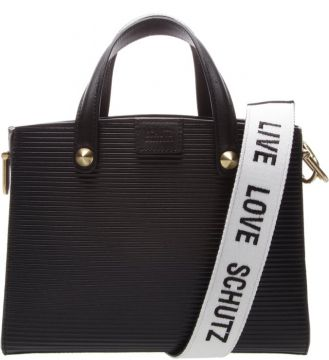 Mini Tote Live Love Black - Schutz