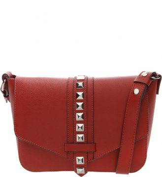 Crossbody Maxi Studs Red - Schutz