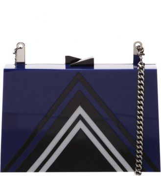 Clutch Retro Tina Blue - Schutz