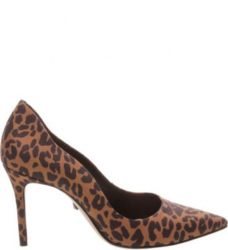 Scarpin Curves Animal Print - Schutz