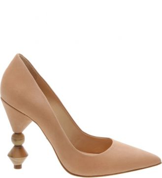 Scarpin Statement Heel Neutral - Schutz