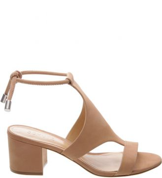 Sandália Block Heel Cover Up Neutral - Schutz