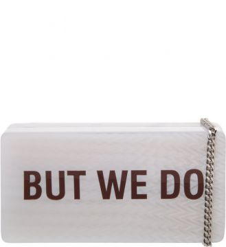 Quote Clutch White - Schutz