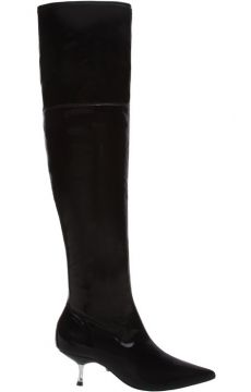 Bota Over The Knee Verniz Kitten Heel - Schutz