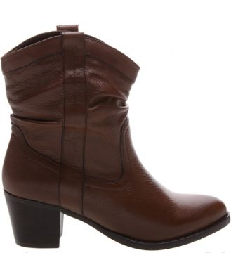New Western Slouchy Boot Brown - Schutz