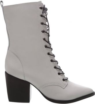 Lace-up Combat Boots White - Schutz