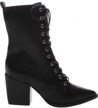 Lace-up Combat Boots Black - Schutz