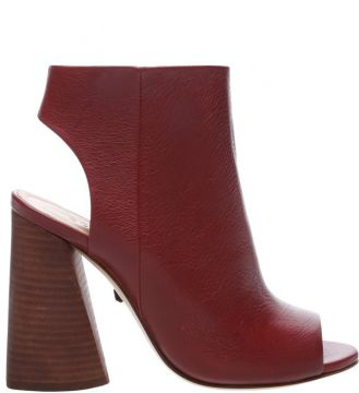 Sandal Boot Red Brown - Schutz