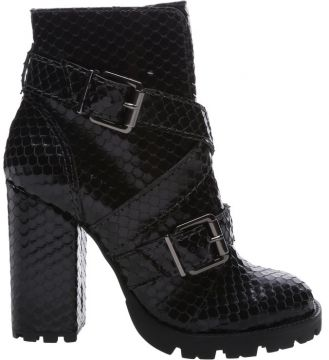 Combat Boot Bright Snake Black - Schutz