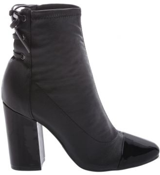 Ankle Boots Strech Double Black - Schutz