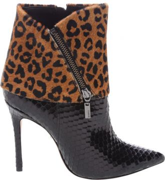Ankle Boot Cape Animal Print - Schutz