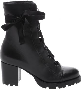 Pré Venda Combat Boot Lace Up Black - Schutz
