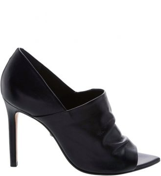 Open Ankle Boot Leather Black - Schutz