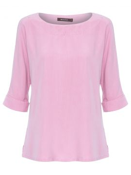 Blusa Feminina Tencel - Rosa - Mixed